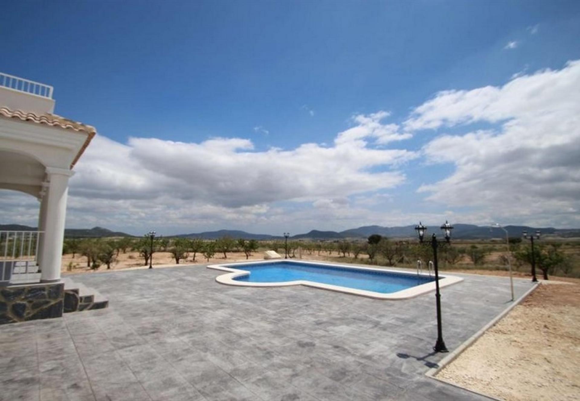 Luxe nieuwe villa's met zwembad inc. land, licenties Alicante, Pinoso in Medvilla Spanje