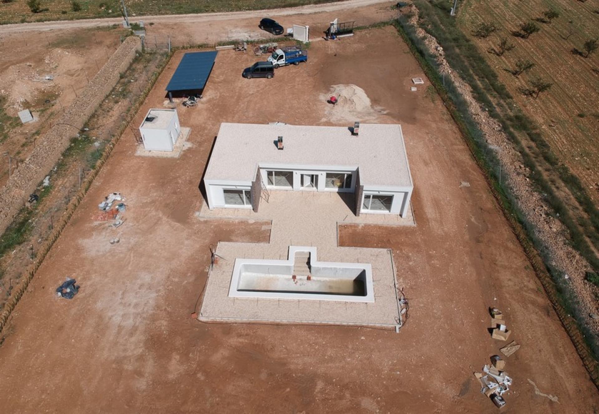 Moderne nieuwbouwvilla in de buurt van Pinoso, Alicante in Medvilla Spanje