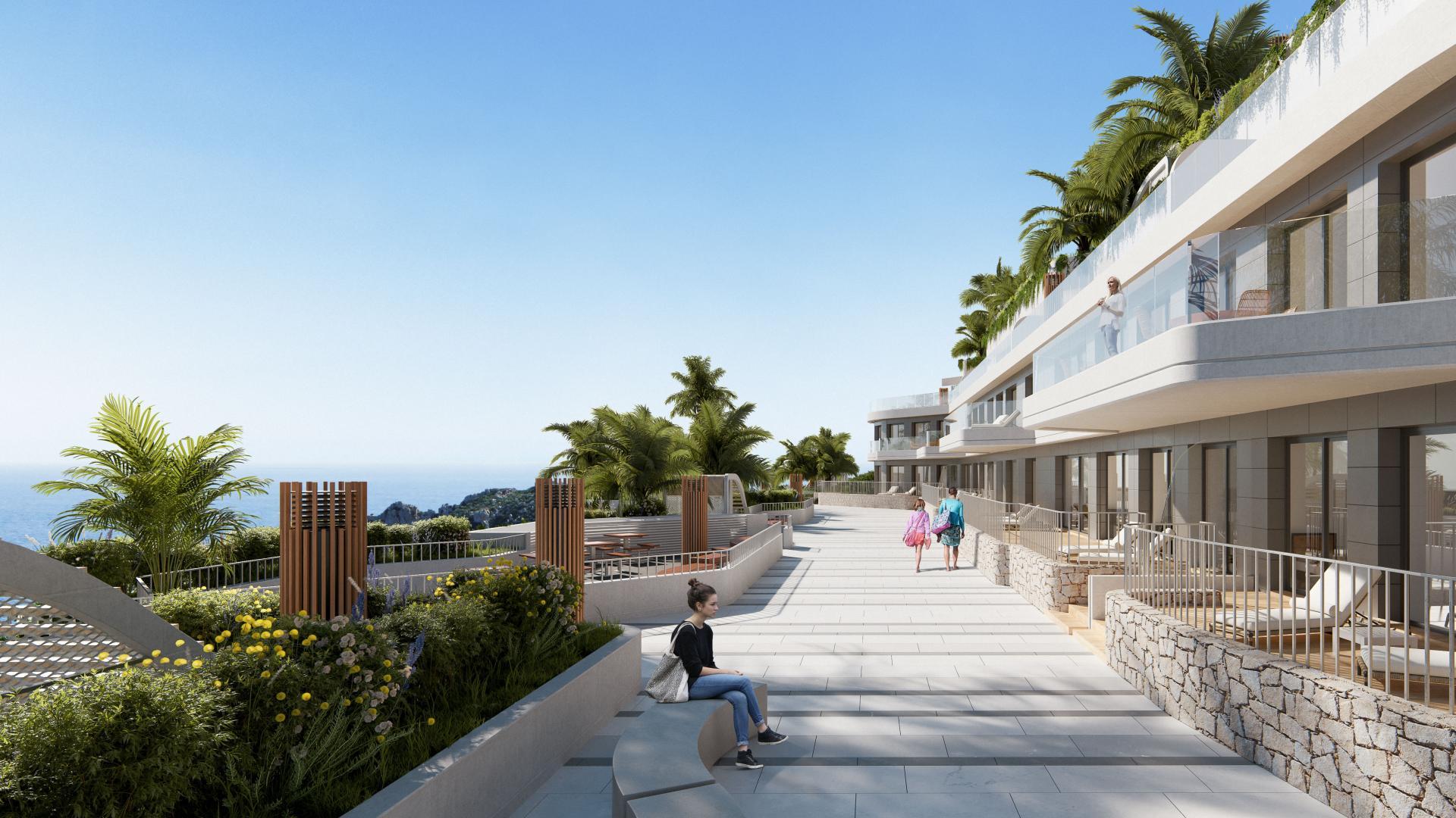 2 Slaapkamer Appartement met terras in Aguilas - Nieuwbouw in Medvilla Spanje