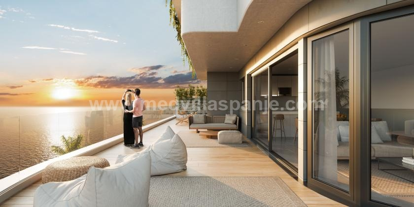 2 Slaapkamer Appartement met terras in Aguilas in Medvilla Spanje