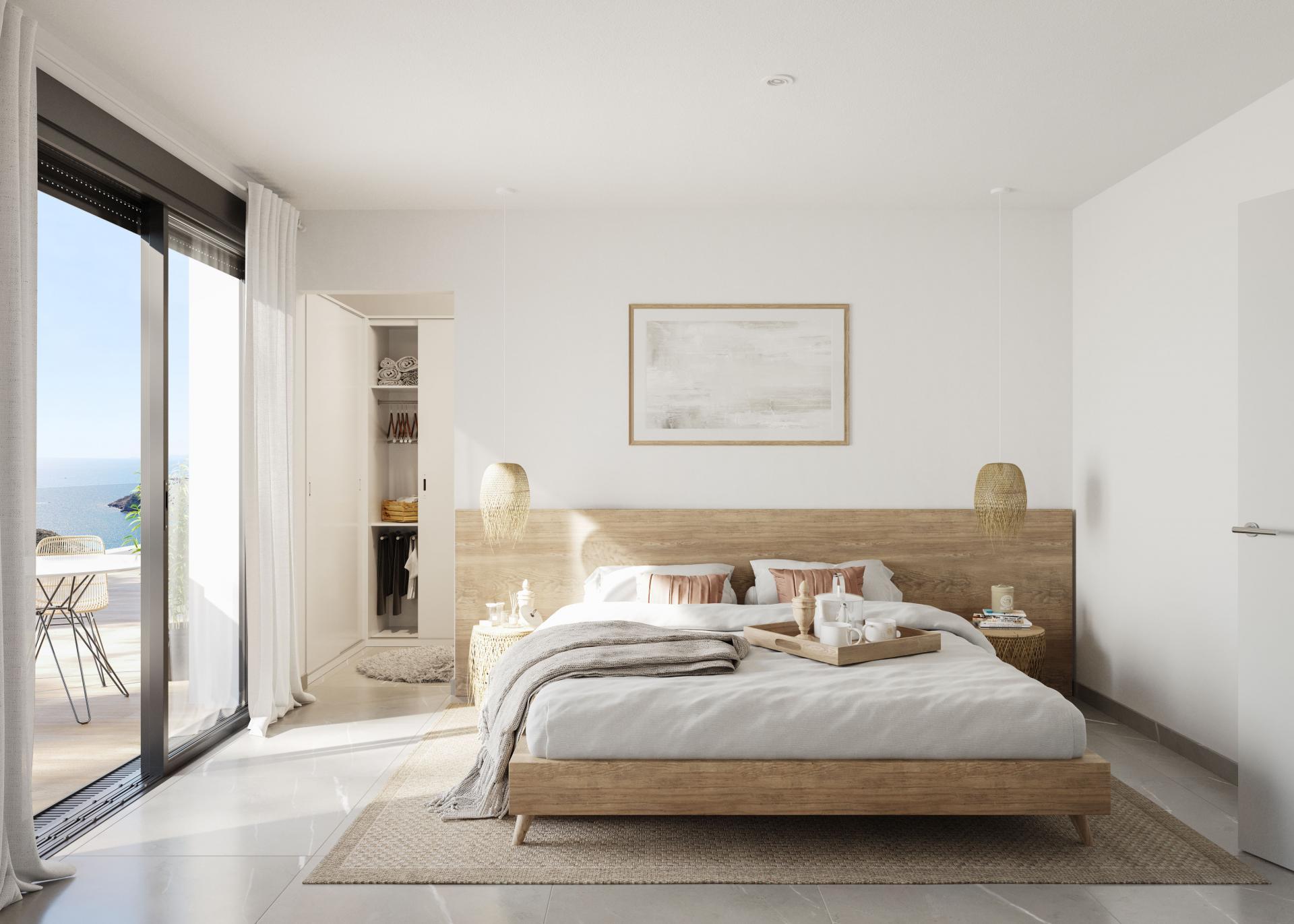 1 Slaapkamer Appartement met terras in Aguilas - Nieuwbouw in Medvilla Spanje