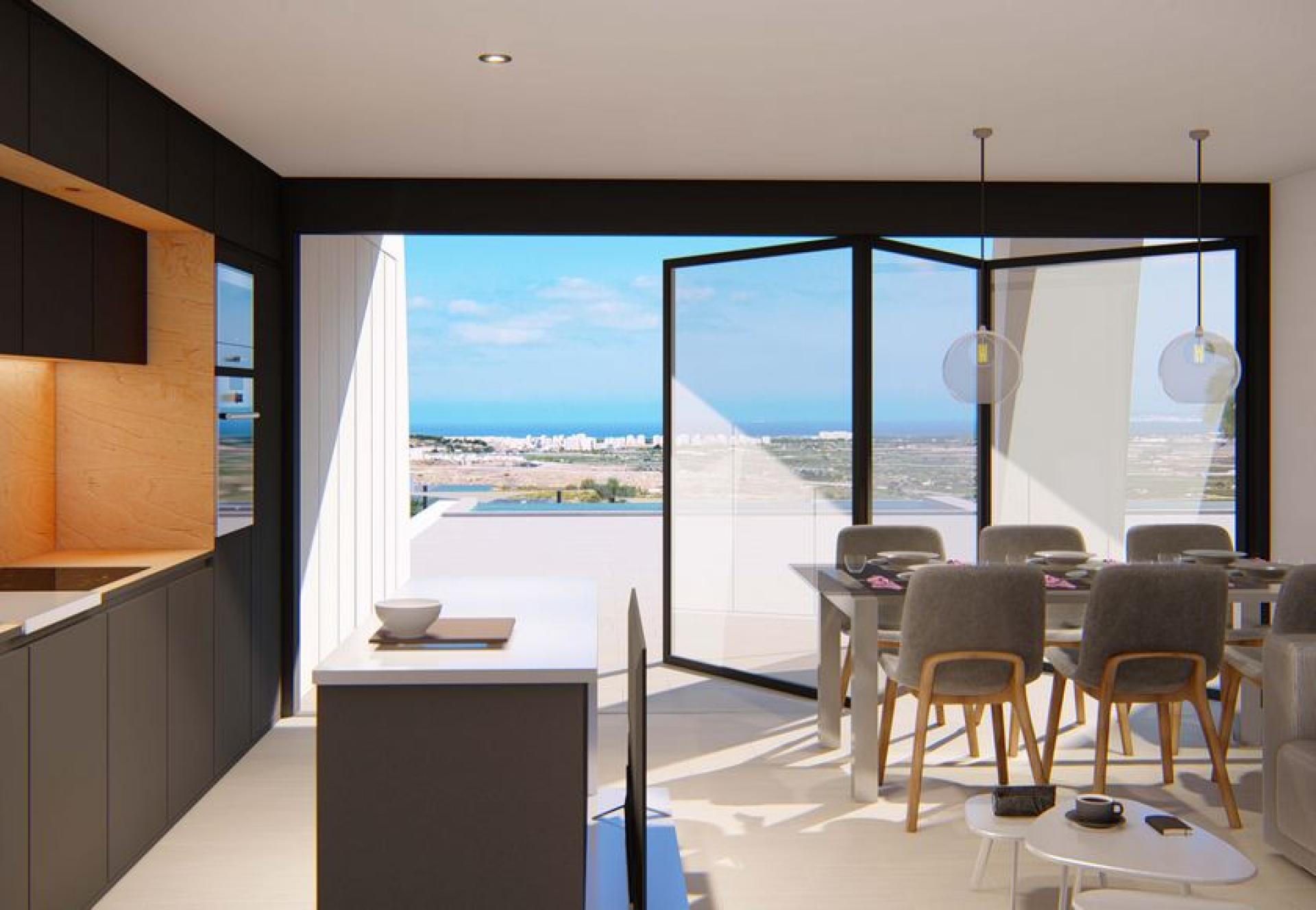 Gelijkvloers appartement met prive zwembad te Rojales, Alicante (Costa Blanca) in Medvilla Spanje