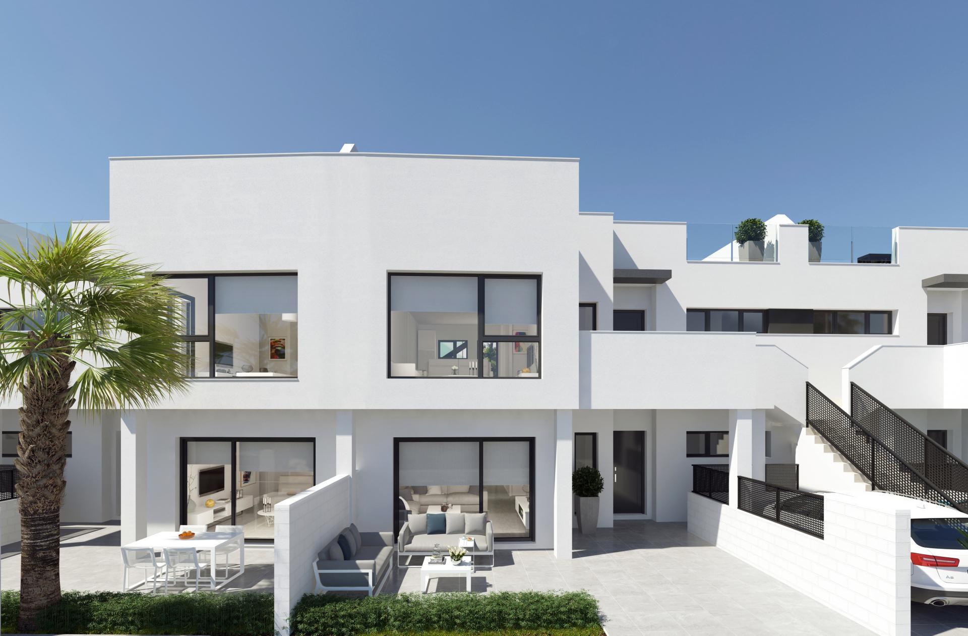 Penthouse appartement in Santiago de la Ribera, San Javier in Medvilla Spanje
