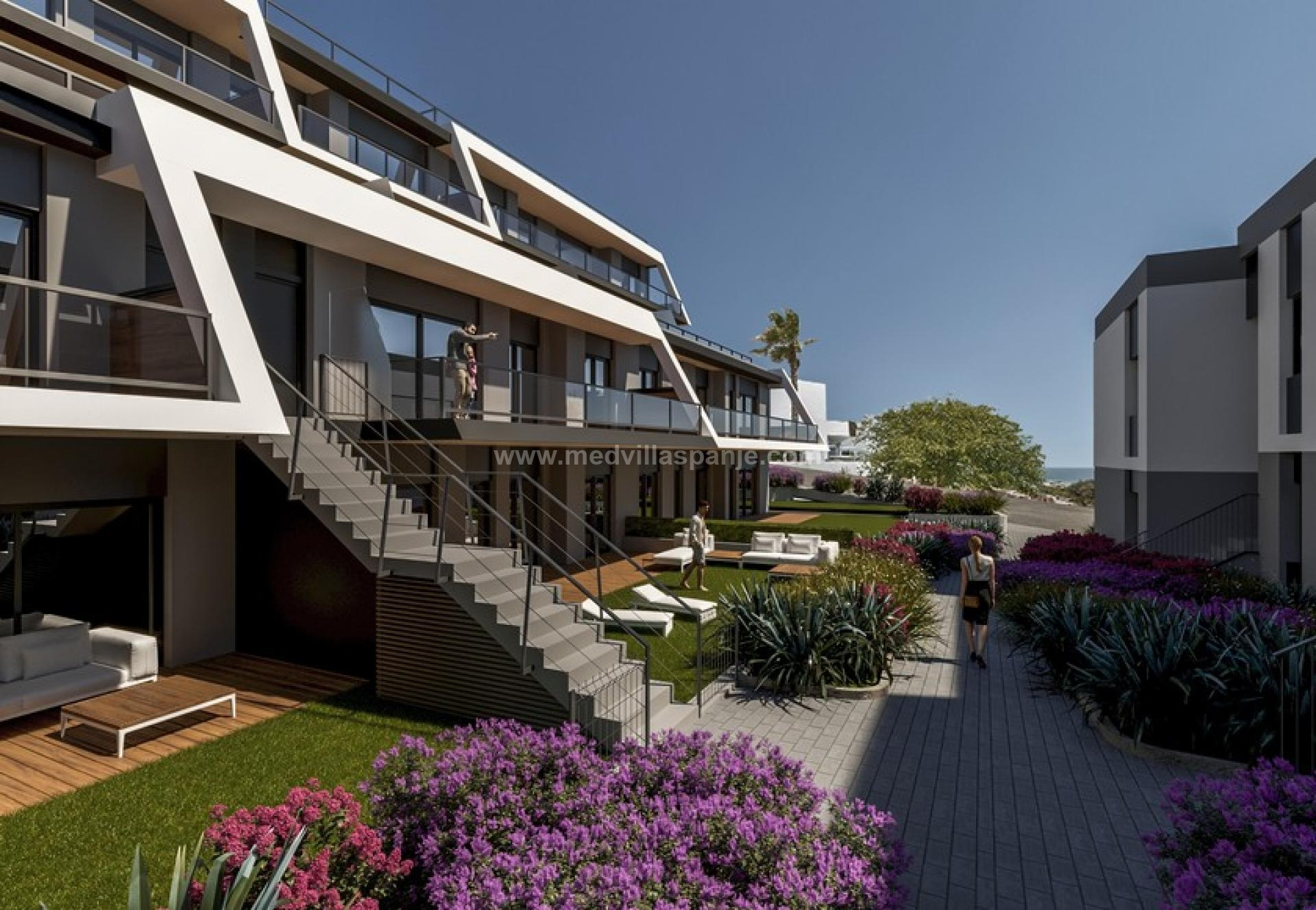 Nieuwbouw appartementen nabij Santa Pola, Costa Blanca Zuid in Medvilla Spanje