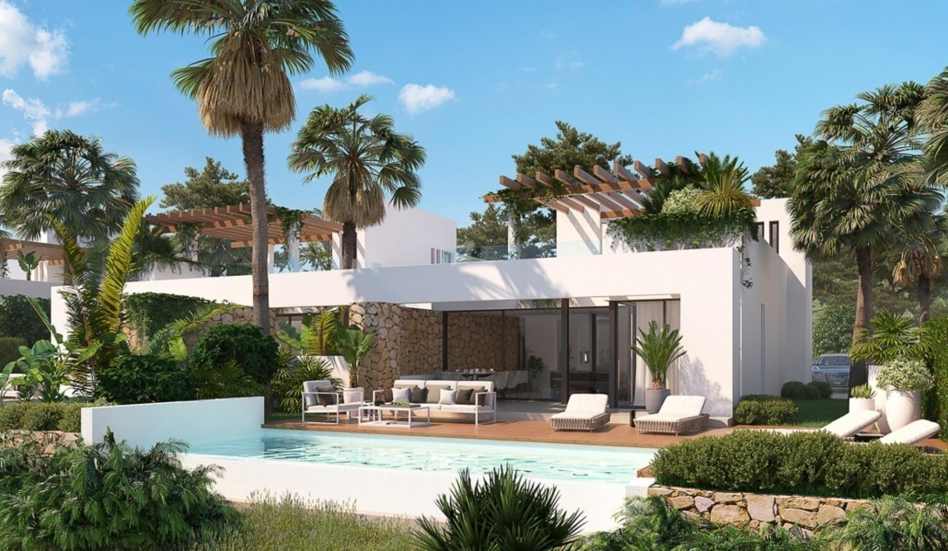 Villa op exclusief golf resort Font Del Llop, Aspe - Costa Blanca in Medvilla Spanje