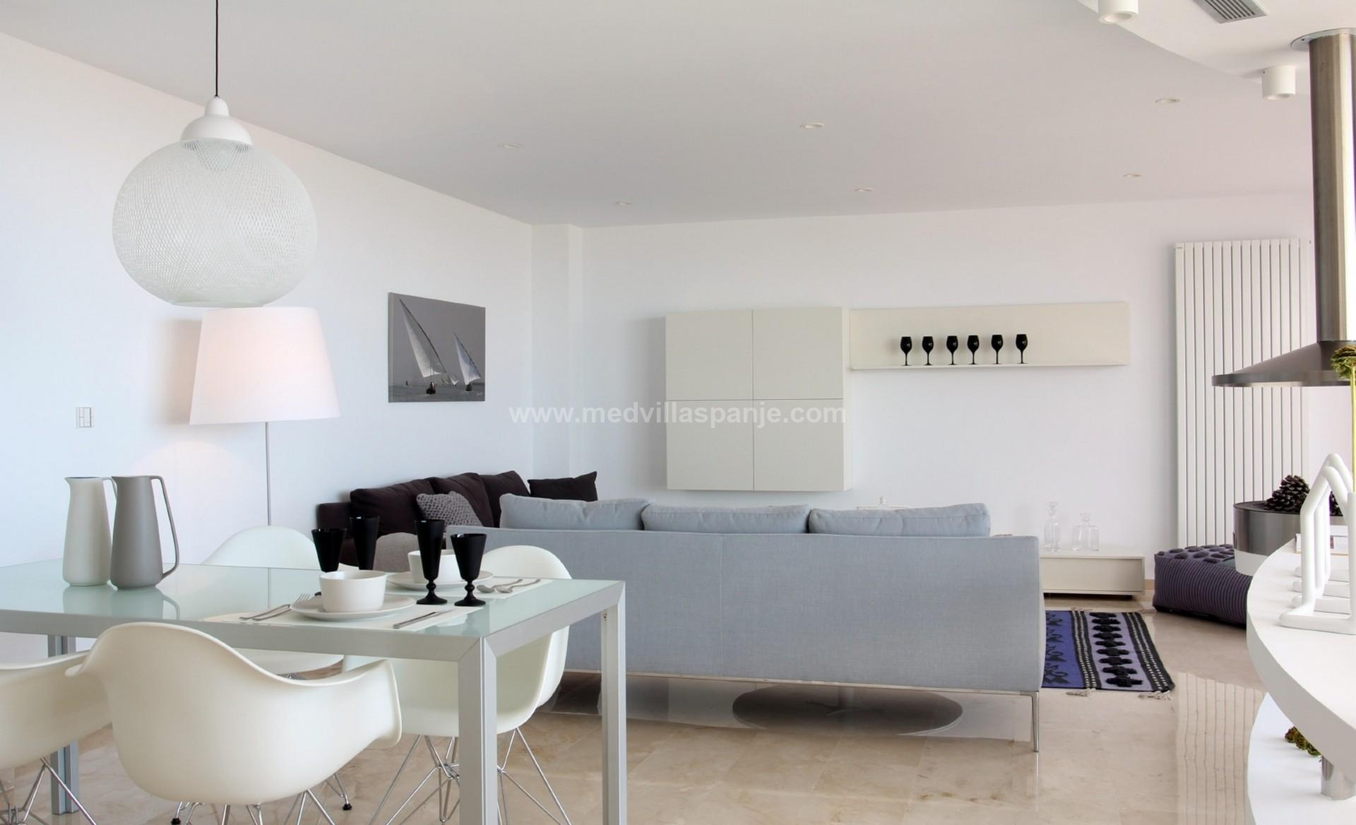 Altea, Luxe nieuwbouw Villa in Altea, Costa Blanca in Medvilla Spanje