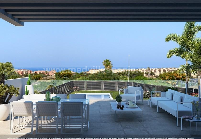 3 Slaapkamer Appartement met solarium in Guardamar in Medvilla Spanje