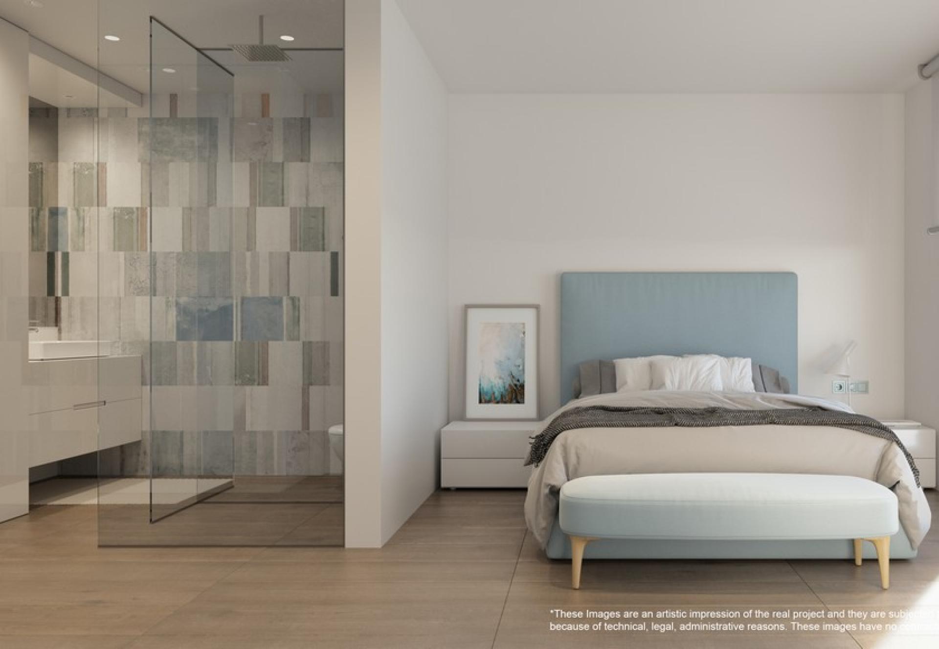 2 Slaapkamer Appartement Met Tuin In Campoamor in Medvilla Spanje