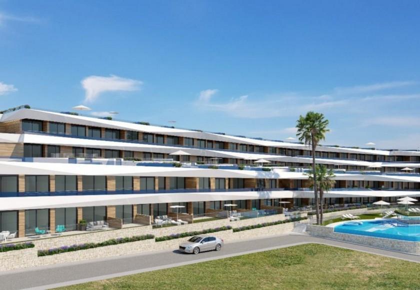 2 Slaapkamer Appartement met terras in Gran Alacant in Medvilla Spanje