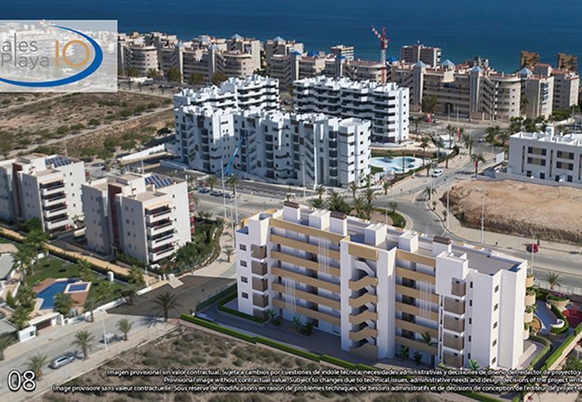 2 Slaapkamer Appartement met solarium in Alicante in Medvilla Spanje