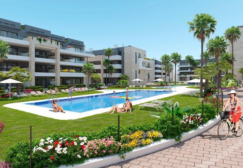 3 Slaapkamer Appartement met solarium in Playa Flamenca in Medvilla Spanje