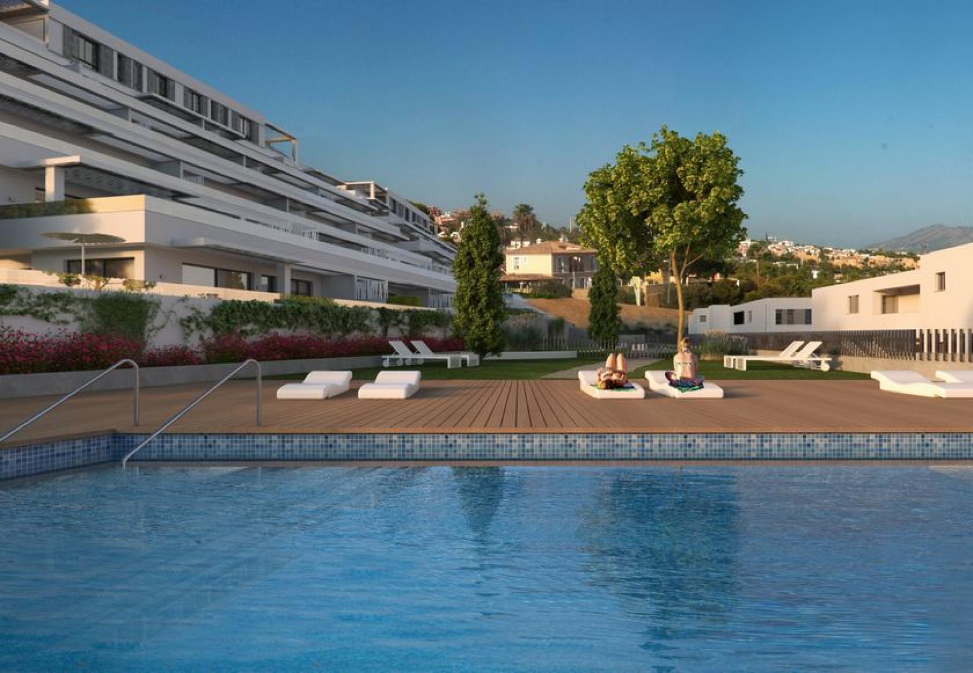 2 Slaapkamer Appartement met terras in Finestrat - Nieuwbouw in Medvilla Spanje