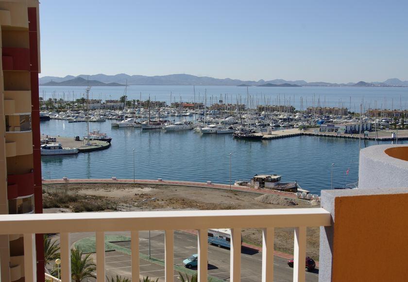 Appartementen met zeezicht, La Manga del Mar Menor in Medvilla Spanje