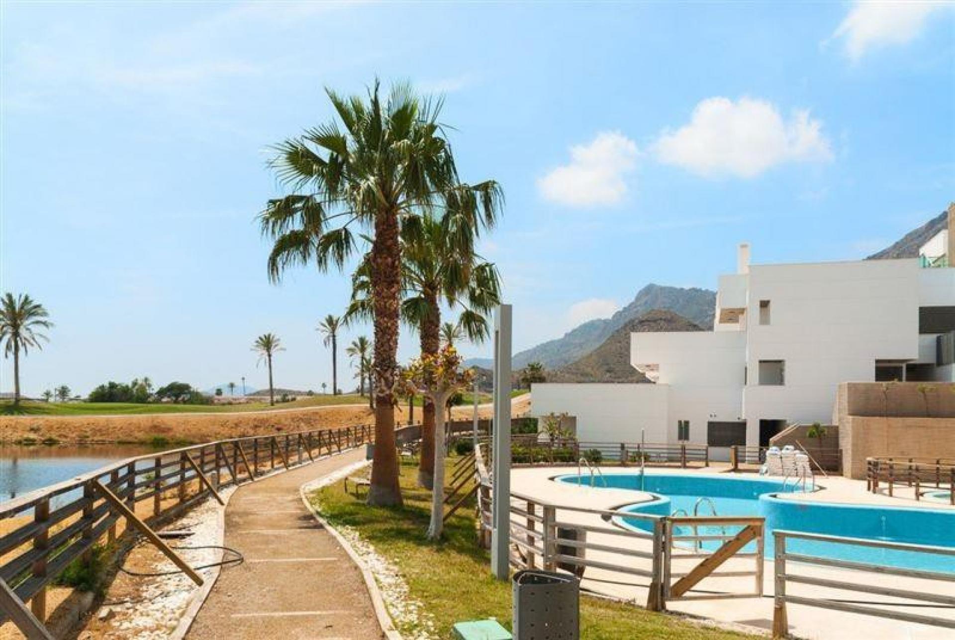 3 Slaapkamer Appartement met terras in San Juan de los Terreros - Nieuwbouw in Medvilla Spanje