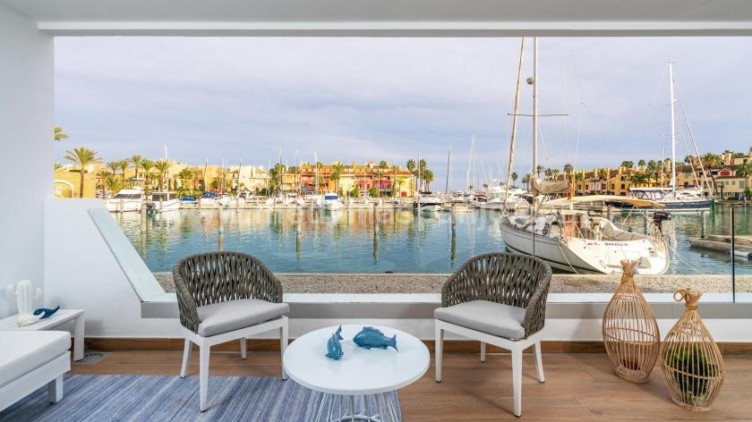 2 Slaapkamer Appartement met terras in Sotogrande in Medvilla Spanje
