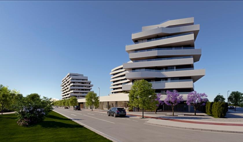 3 Slaapkamer Appartement met terras in Alicante in Medvilla Spanje