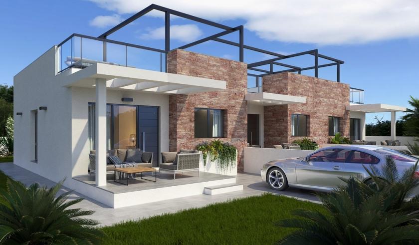 3 Slaapkamer woning in Mil Palmeras, Costa Blanca Zuid in Medvilla Spanje