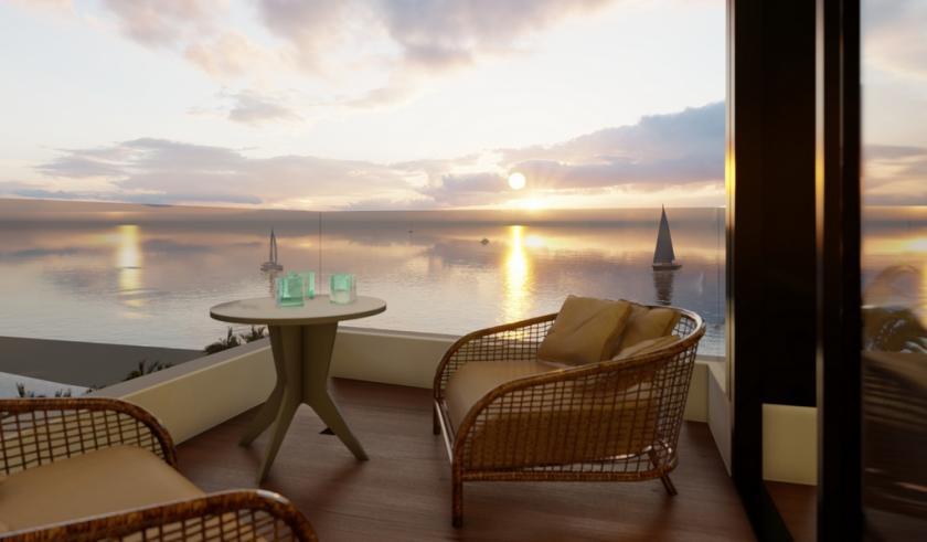 Appartementen eerste strandlijn gelegen in La Mata, Torrevieja in Medvilla Spanje
