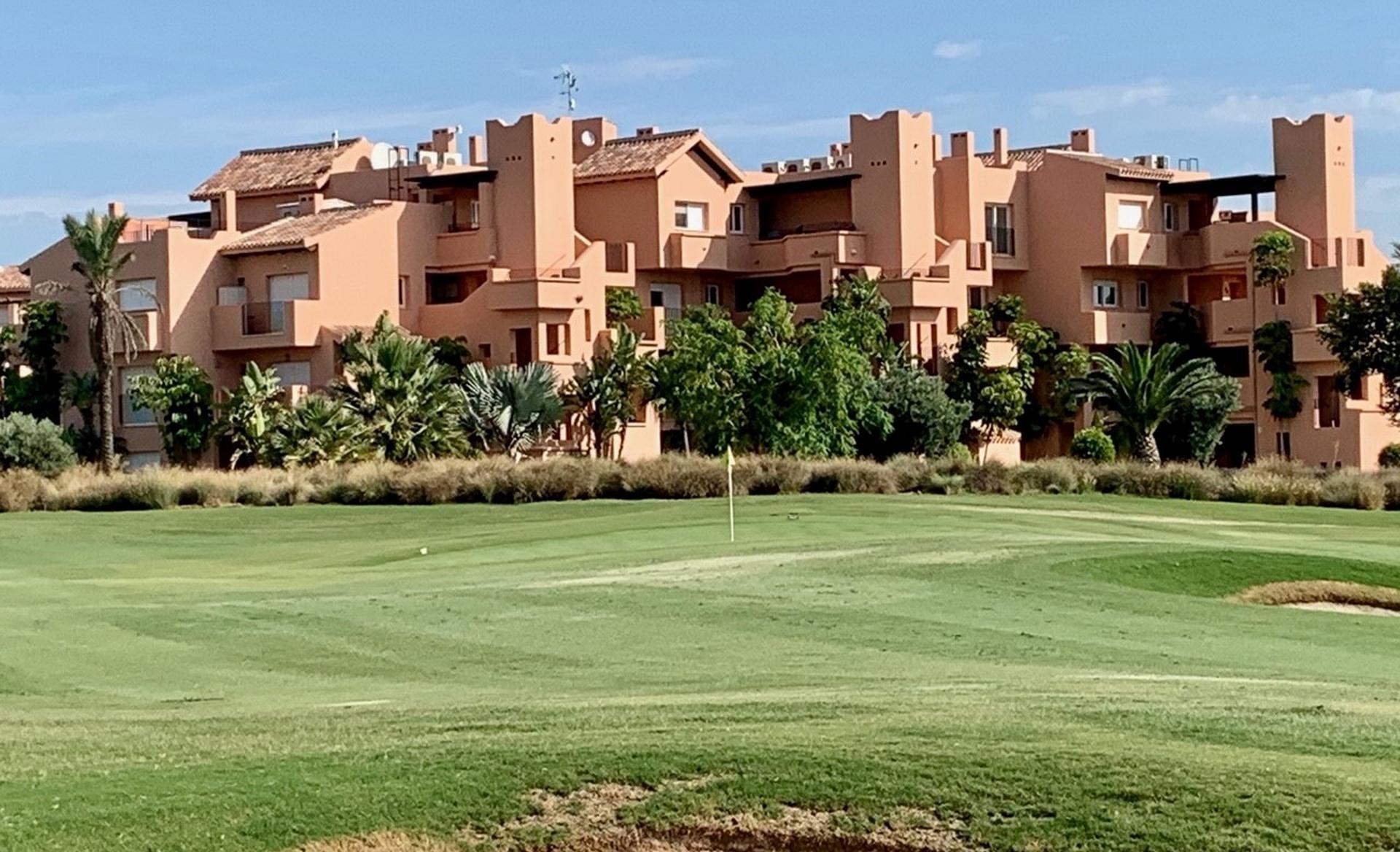 Ruime appartementen op golfresort, Costa Calida in Medvilla Spanje