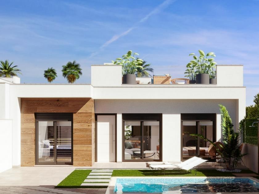 Villas near Los Alcazares, Murcia, Costa Calida, Spain in Medvilla Spanje