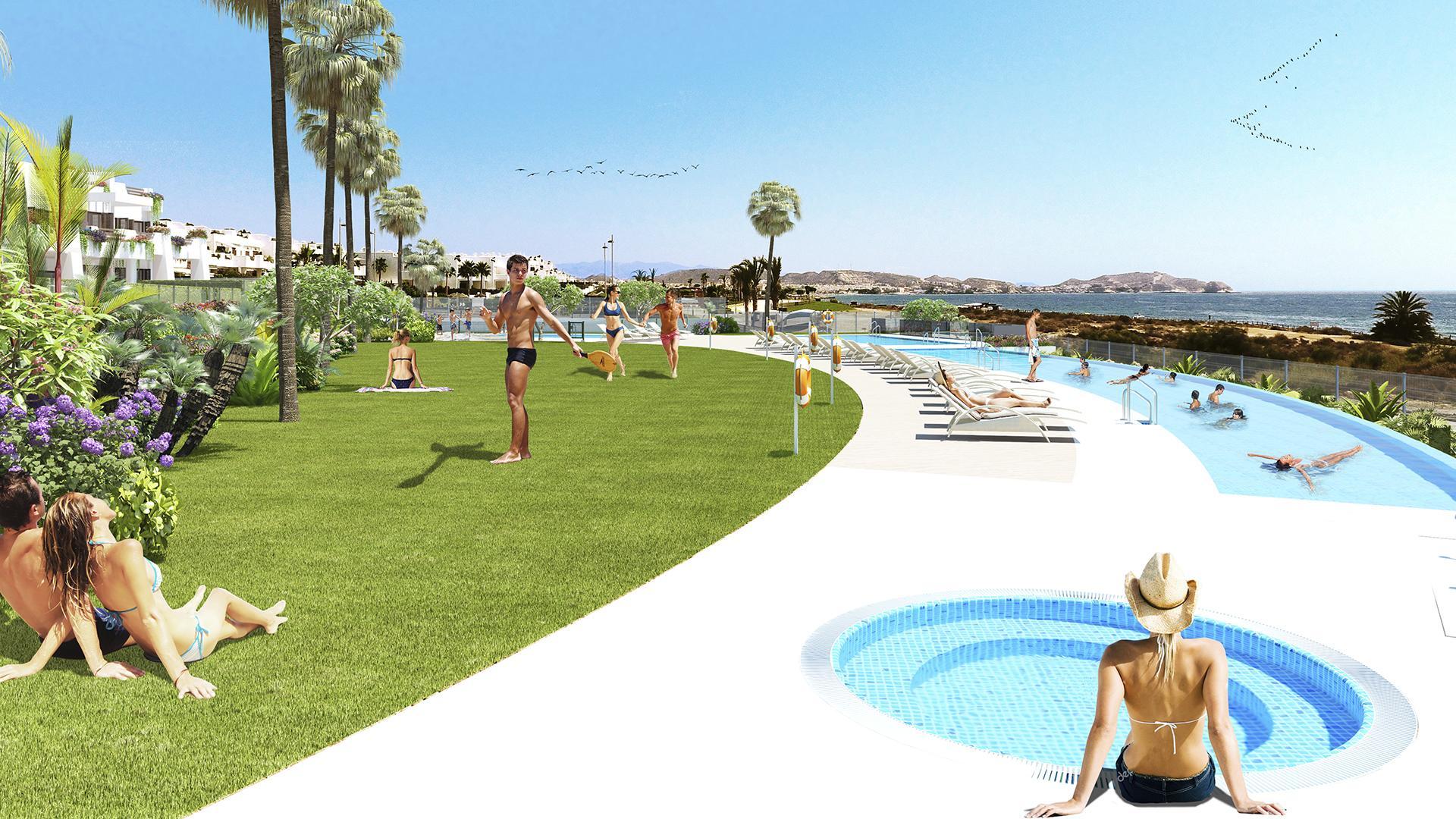 Mar de Pulpi fase 6 - Appartement aan zee  in Medvilla Spanje