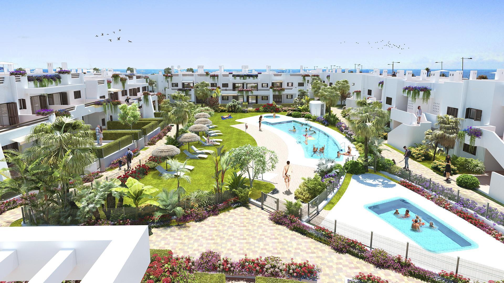 Appartement aan zee Mar de Pulpi - fase 6 in Medvilla Spanje