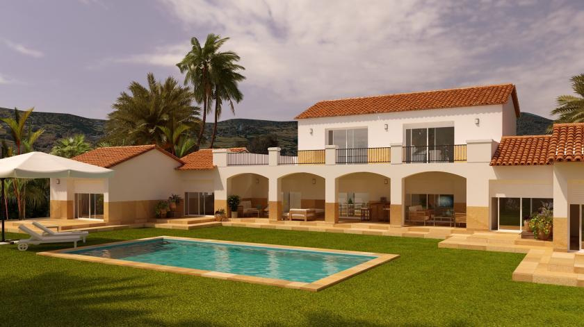 6 Slaapkamer Villa in Alicante in Medvilla Spanje