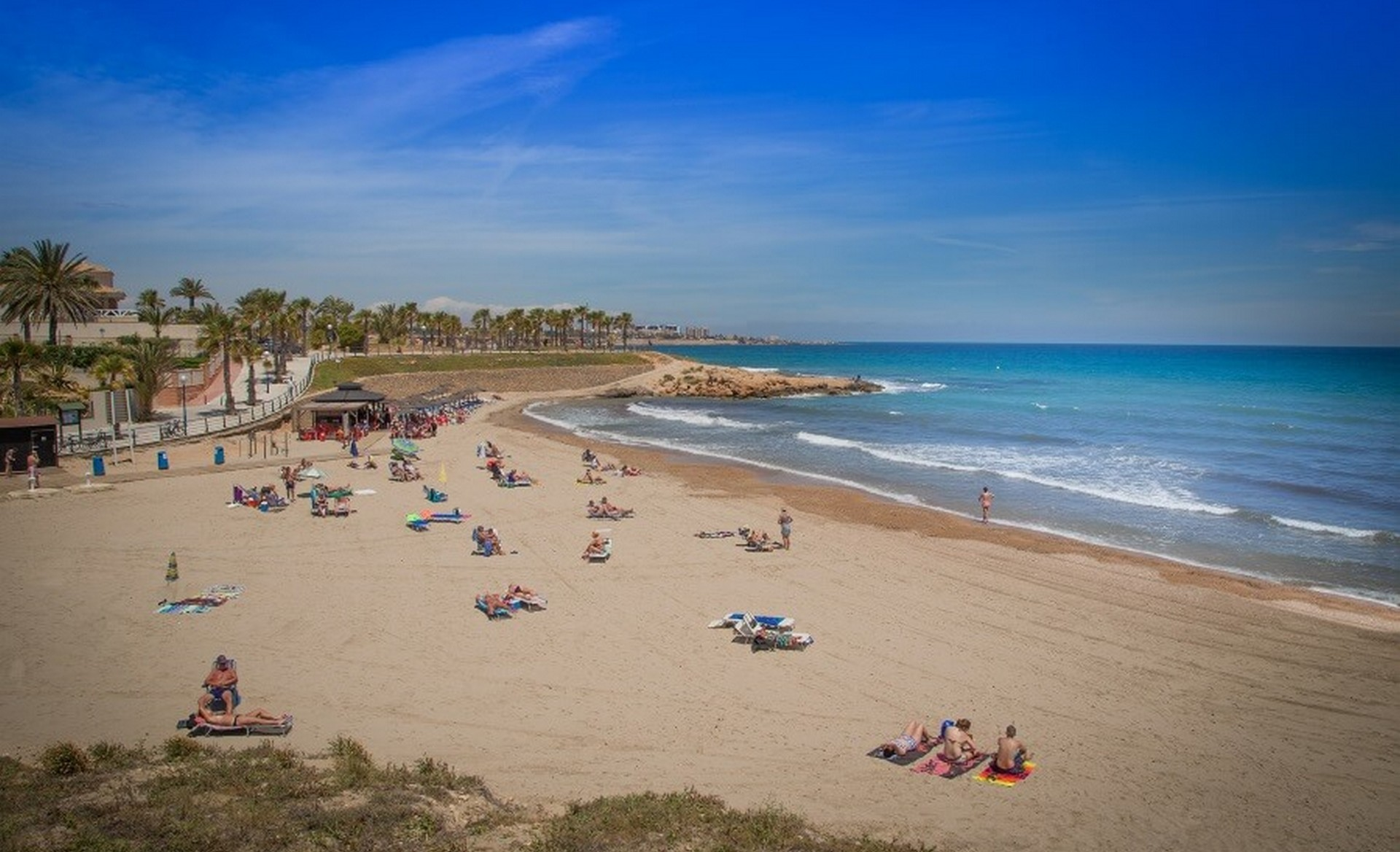 Playa Flamenca blauwe vlag strand