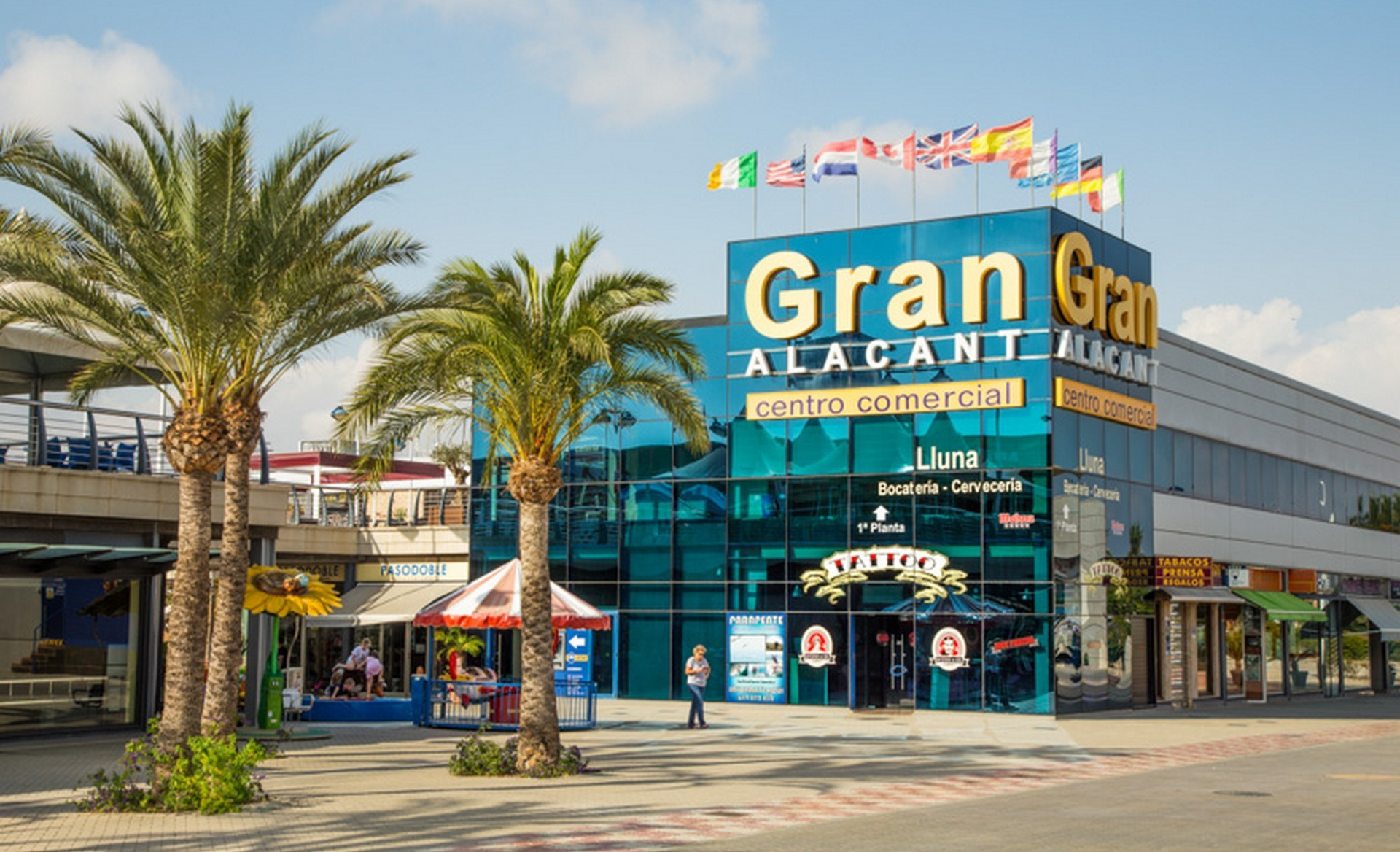 Gran Alacant shopping centrum