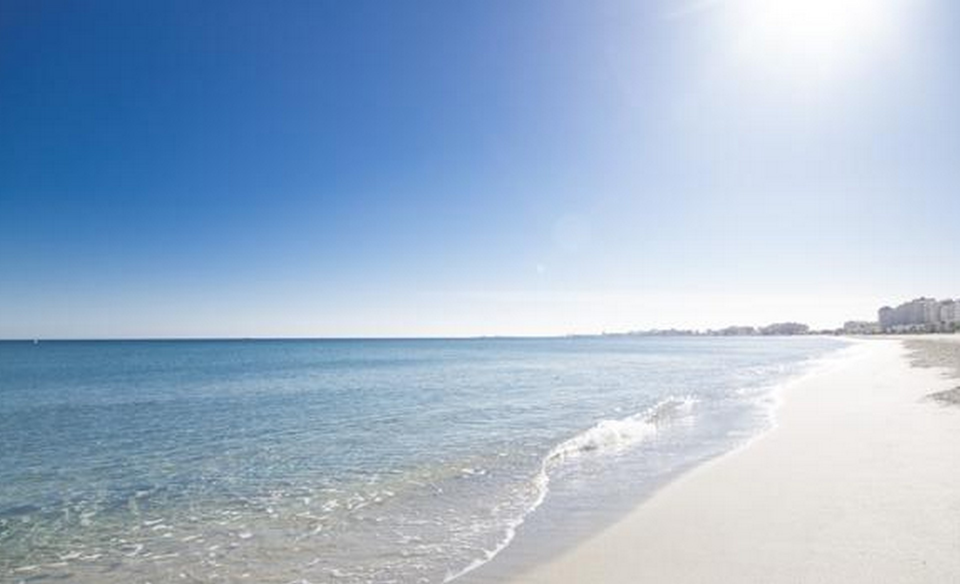 San Javier strand