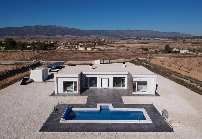 Modern New Build Villa near Pinoso, Alicante in Medvilla Spanje