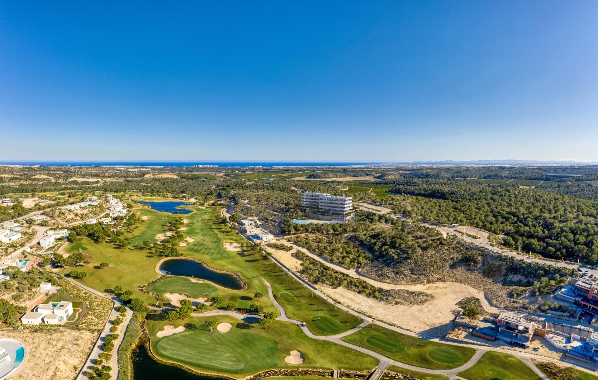 Exclusieve design appartementen, Costa Blanca in Medvilla Spanje