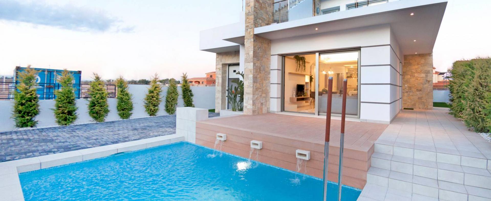 Moderne villa In Los Alcazares Costa Calida, Spanje in Medvilla Spanje