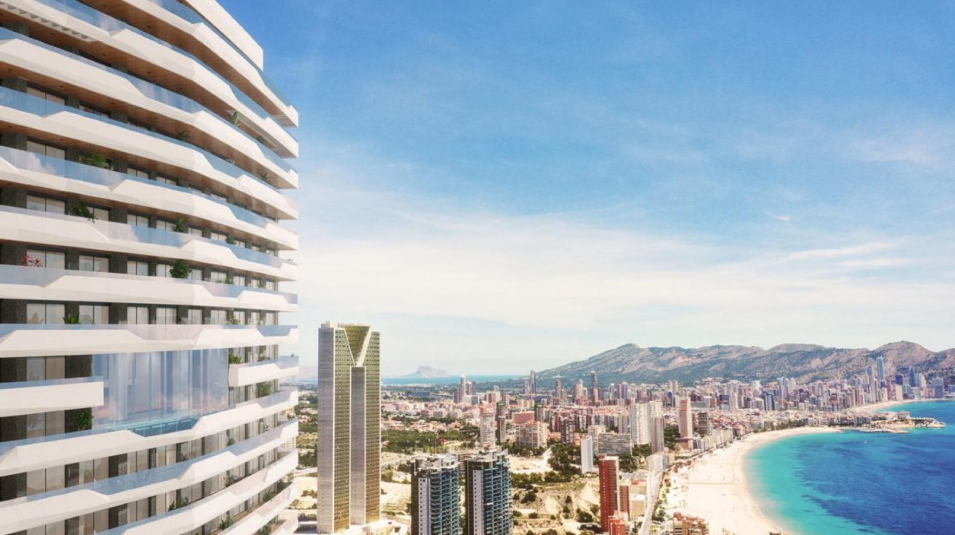 Benidorm - Appartementen met prachtig uitzicht op zee in Medvilla Spanje