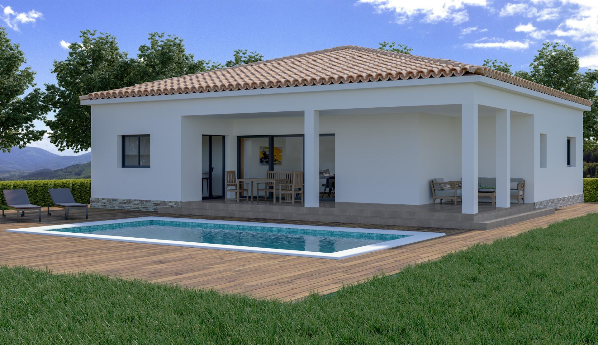Nieuwe villa op plan te koop in Macisvenda, Murcia in Medvilla Spanje