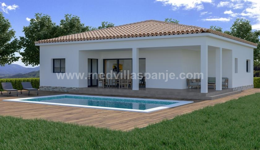 New Villa Off Plan for sale in Macisvenda, Murcia in Medvilla Spanje