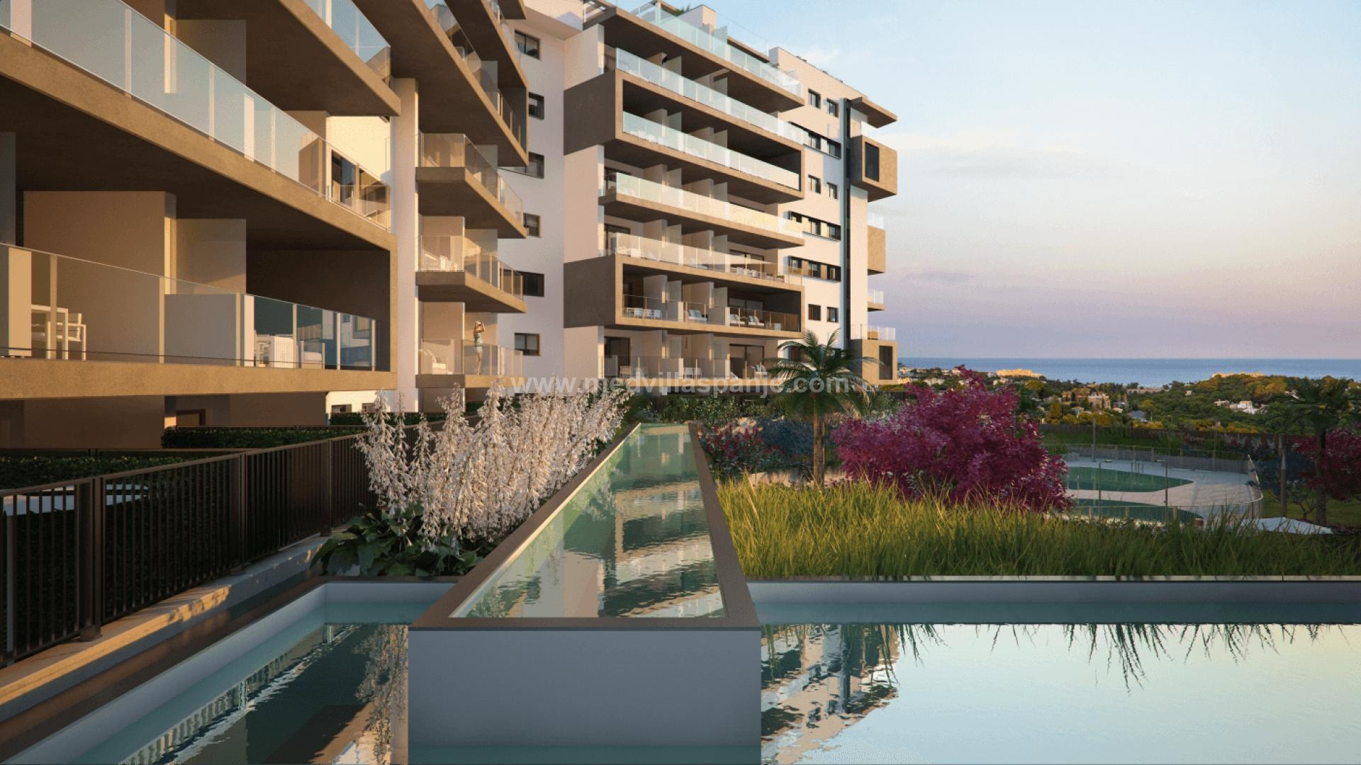 2 bedroom Apartment with terrace in Campoamor in Medvilla Spanje