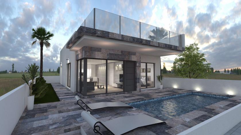 Villa met 3 slaapkamers en eigen zwembad in Villamartin in Medvilla Spanje