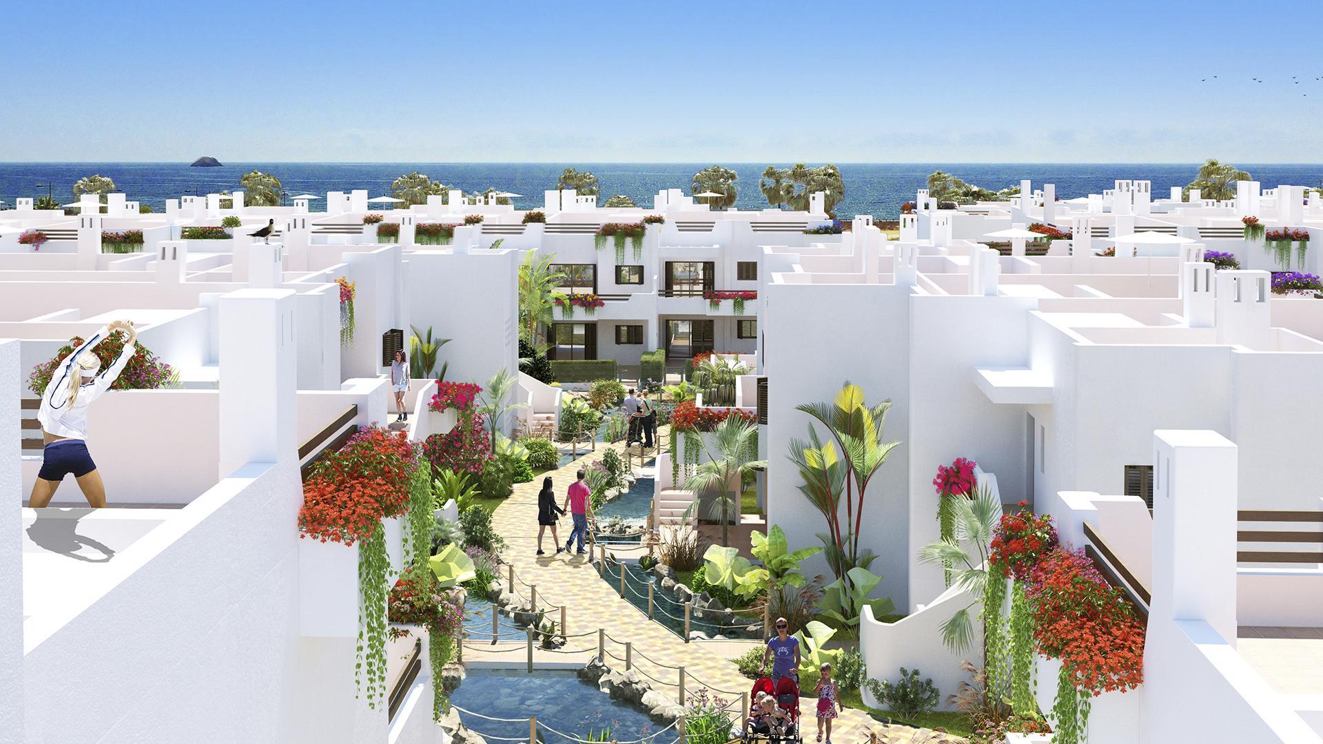 Appartement 1ste lijn aan zee Mar de Pulpi - fase 6 in Medvilla Spanje