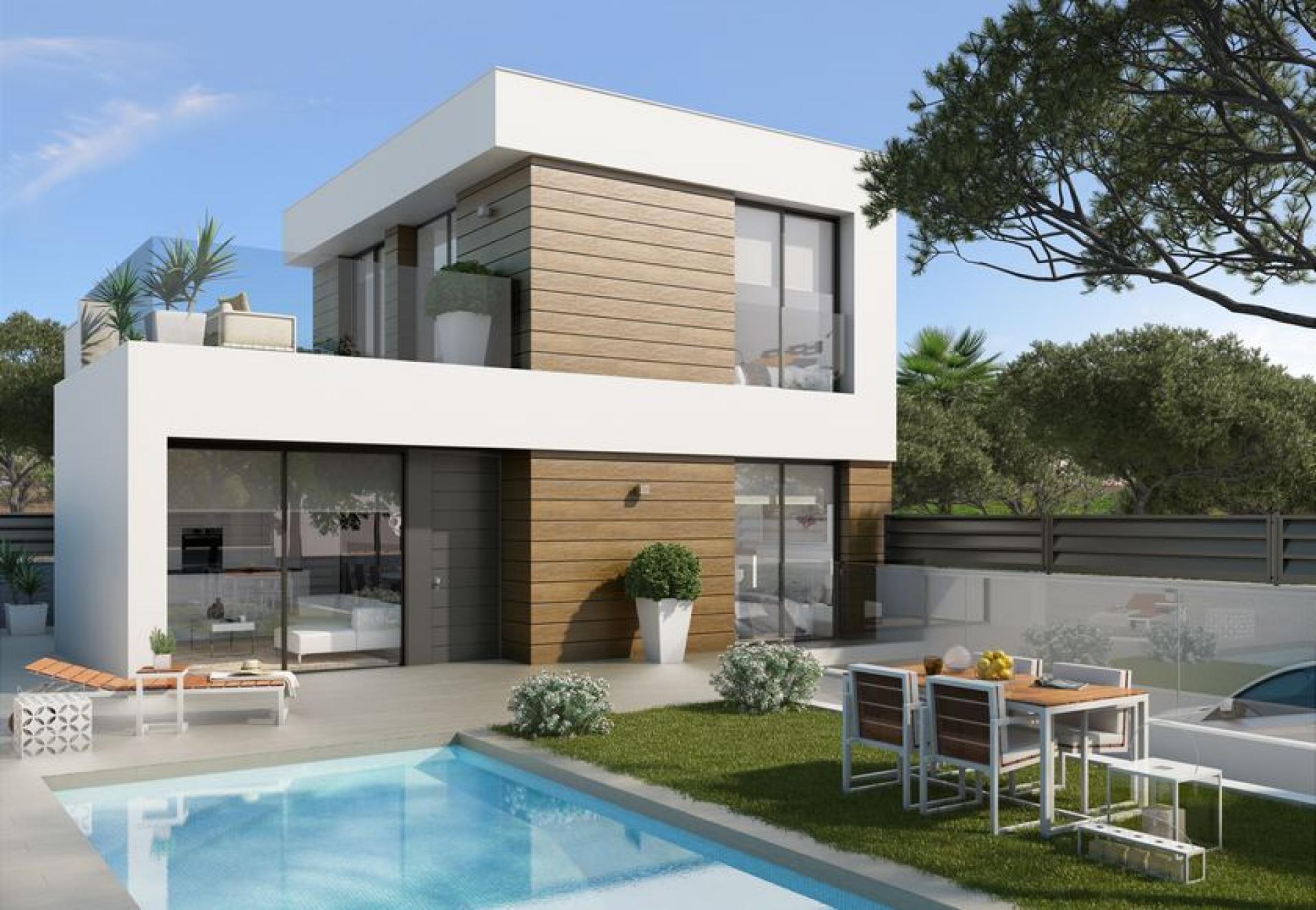 3 Slaapkamer Villa in El Campello - Nieuwbouw in Medvilla Spanje