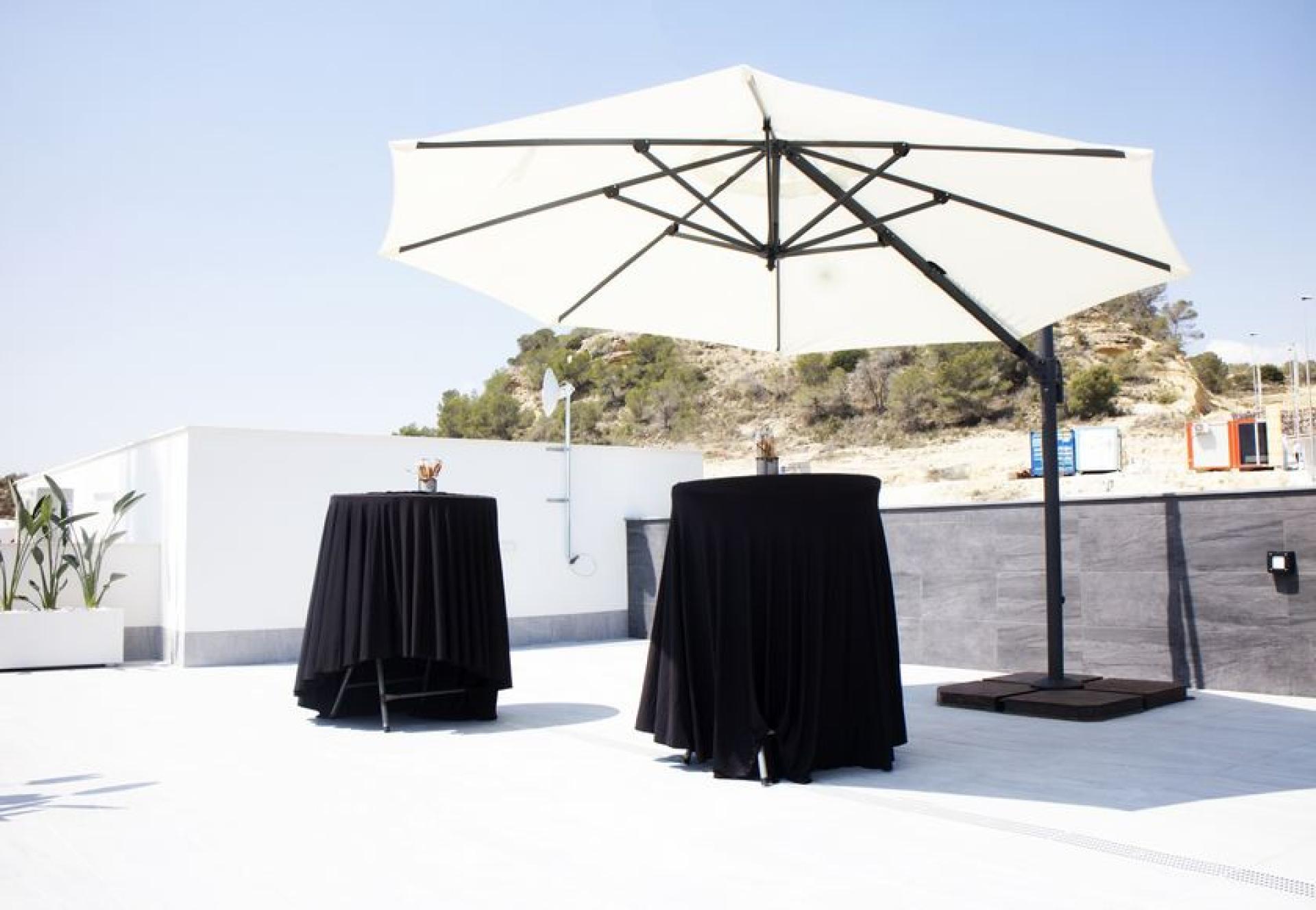 Luxueuze villa met privé zwembad en zeezicht in San Miguel de Salinas in Medvilla Spanje