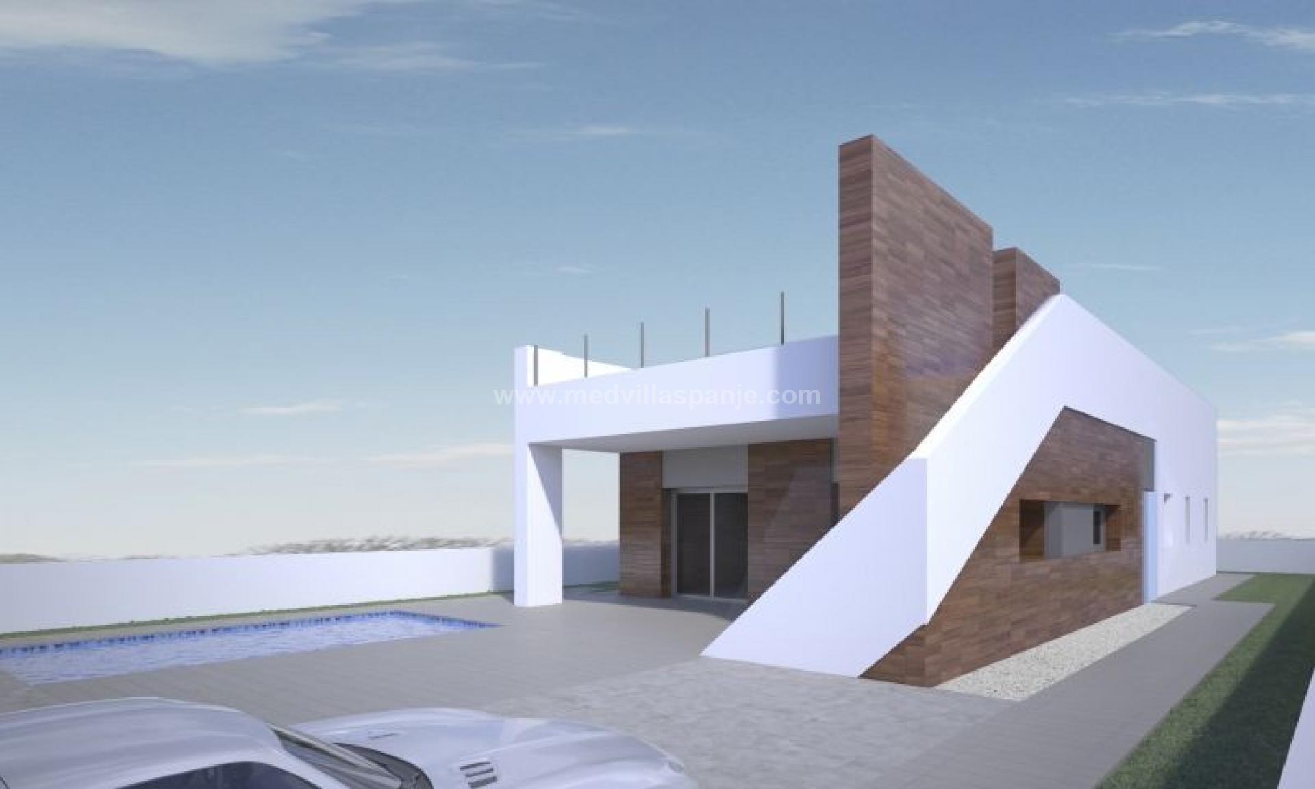 Moderne villa op loopafstand van historische stad Aspe in Medvilla Spanje