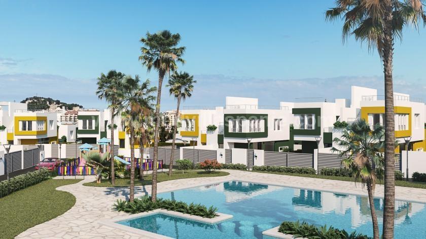 2 Slaapkamer Geschakelde woningen in Denia in Medvilla Spanje